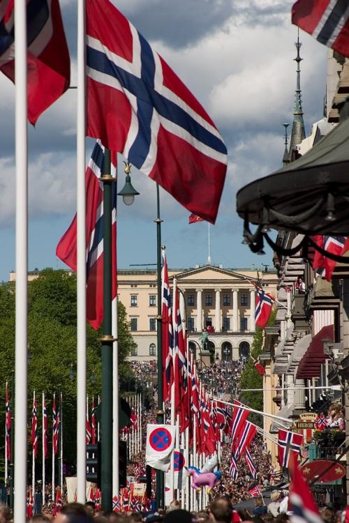 Norway celebrates May 17th