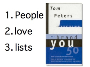 People Love Lists
