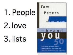 People Love Lists
