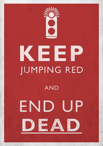 Keep Jumping Red, End Up Dead