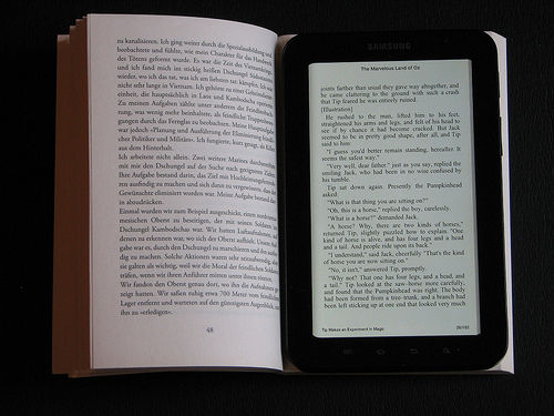 Book/ebook reader
